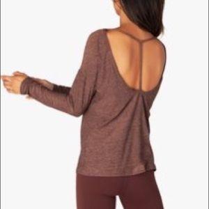 NWT Beyond Yoga Moonrise Long Sleeve Shirt Rust